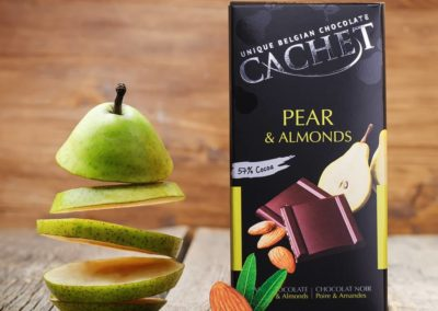 pear and almonds