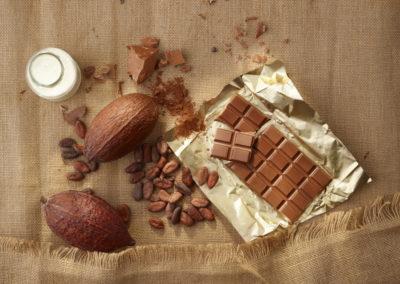 sfeer melk chocolade
